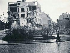Drinciceva i Bulevar Despota Stefana - kruzni tok - 1940tih