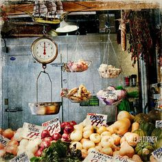 Go to the farmer's market every Saturday!
