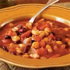 Jane's Vegetarian Chili | MyRecipes.com