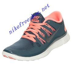 5eee1870228e7 Nike Free 5.0 Womens Dark Armory Blue Atomic Pink Summit 580591 446 Nike  Shoes Outlet