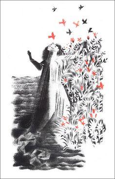 German folk poetry. Translation of Lev Ginzburg. Illustrator Nika Goltz, 1984.