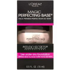 L'Oréal Paris Studio Secrets Professional Magic Perfecting Base Face... ❤ liked on Polyvore featuring beauty products, makeup, face makeup, makeup primer and l'oréal paris