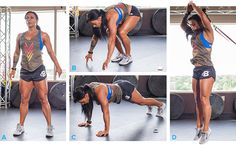 A few minutes of Burpee conditioning will quickly convince you that your own natural bodyweight provides plenty of resistance for an ass-kicking workout that blasts your stamina and fat loss through the roof.