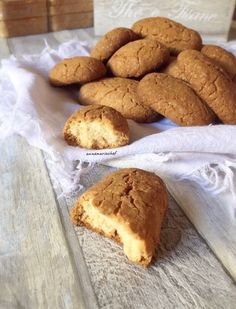 Gluten Free Flour, Brownie Cookies, Mamma, Sin Gluten, Light Recipes, Grain Free, Italian Recipes, Biscuits, Bakery