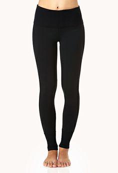 High-Waisted Workout Leggings   FOREVER21 - 2000127829