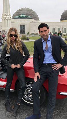 Lucifer and Chloe Netflix Series, Series Movies, Tv Series, Lauren German, True Detective, Movies Showing, Movies And Tv Shows, Detective Costume, Looks Baskets