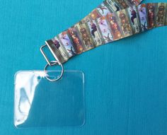 Disney KTTW Card Holder/Lanyard - Haunted Mansion Stretching Room - Halloween - Non-scratchy - Child or Adult