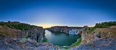 Shoshone Falls in Twin Falls Idaho - Higher than Niagara Falls!