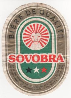 10 vintage African beer labels