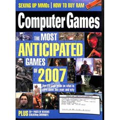 Cover Print of Computer Games Magazine, February 2007 | $6.60