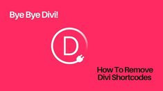 It's important to realize, the Divi shortcode cleaner plugin is free for use — courtesy of the Tortoise It experts. Simply install as normal, visit the settings page, prod the button and you're done! In that case, you have two options to consider🙂. First, you can use the Divi Builder Plugin on the new theme. Secondly, you can just sit and use a shortcodes remover plugin. Types Of Websites, Web Business, Building A Website, New Theme, Wordpress Plugins, Trending Topics, Design Development, Tortoise, Simple