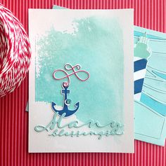 Many Blessings Card by Danielle Flanders for Papertrey Ink (June 2015)