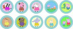 adesivos redondos 5 cm peppa pig etiquetas peppa pig jpg Search ...