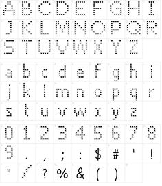 Cross Stitch Font Download Cross Stitch Letter Patterns, Cross Stitch Letters, Cross Stitch Baby, Cross Stitch Font, Cross Stitch Embroidery, Pixel Font, Word Fonts, Perler Patterns, Minecraft Perler