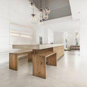 Küche Beton Eiche W von Wiedemann