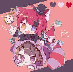 アリスみたい可愛ええ Anime Neko, Kawaii Anime, Anime Cat Boy, Cute Anime Chibi, Anime Child, Kawaii Chibi, Anime Wolf, Cute Anime Boy, Anime Eyes