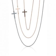 Roseark - Shop by Product: House Sideways Cross Necklace