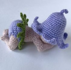 Crochet Sleeping Baby Doll Pattern Bluebell