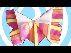 Origami Butterfly Tutorial [HD] - http://www.7tv.net/origami-butterfly-tutorial-hd/