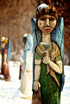 Santa Fe New Mexico_Angel Sculpture