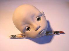 Linda Macario BJD Face-sculpting Tutorial