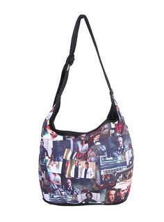 Supernatural Photo Collage Hobo Bag,