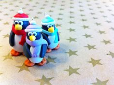Tutorial: How to make Penguin Christmas Ornaments with Sculpey! (Step-by-step instructions with photos)