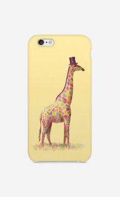 Coque iPhone Fashionable Giraffe par Terry Fan - Wooop.fr