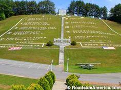 World's Largest Ten Commandments, Murphy - North Carolina