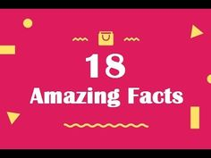 18 Amazing facts most people don't know. Internet Marketing Company, Amazing Facts, Burpees, Fun Facts, Love Quotes, Like4like, Projects To Try, Food And Drink, Blog