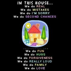 If all our homes have this philosophy, what would our world be like?
