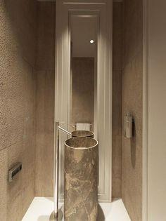 Marble Cylinder Sink