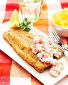 Hemkop.se | Stekt fisk med kräfttsatsiki