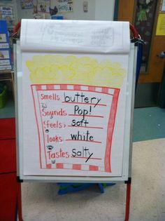 Life Is Sweet....In Kindergarten!: Popcorn 5 Senses