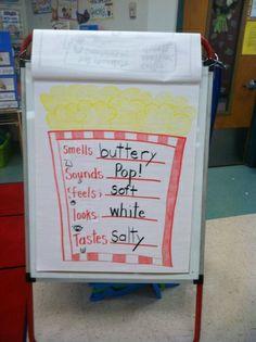 Life Is Sweet....In Kindergarten!: Popcorn 5 Senses