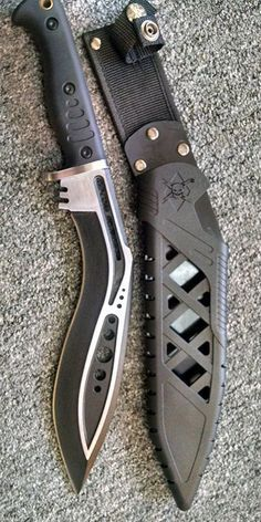 Tactical Kukri Knife Blade @thistookmymoney