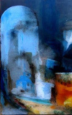 """Reflets du vieux miroir"" 123x73"