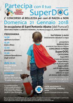 SuperDog a concorso con tanto di benedizione finale per festeggiare Sant'Antonio Abate :http://www.qualazampa.news/event/14469/