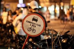O objetivo é desenvolver o respeito das pessoas em relação aos ciclistas e pedir…