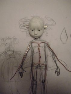 Ejtaylor Princess Zu-zu Paperclay