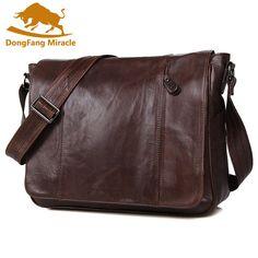 100% Genuine Leather Men bag men messenger bags mens leather crossbody bags men's travel bag Shoulder  EUR 72.36  Meer informatie  http://ift.tt/2jLRy7p #aliexpress