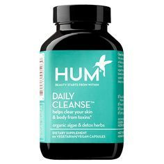 5 Vitamins for Visibly Clearer Skin - Hum Nutrition Daily Cleanse Supplements - from InStyle.com