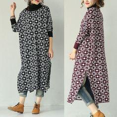 Long cotton  Knit Dress
