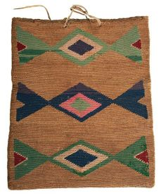 Nez Perce Corn Husk Bag  : Lot 61