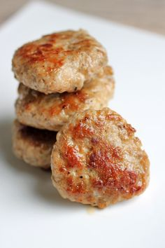 Pork Breakfast Sausages  @The Food Lovers' Primal Palate
