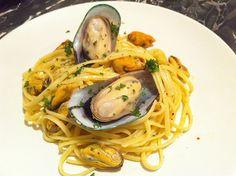 New Zealand green lipped mussel linguine recipe