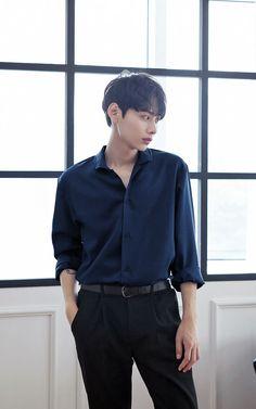 [10컬러 베이직 파자마 셔츠] Korean Fashion Men, Best Mens Fashion, Korean Men, Kpop Fashion, Asian Fashion, Fashion Outfits, Stylish Mens Outfits, Casual Outfits, Asian Male Model
