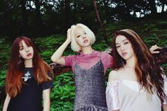 Ladies' Code Talks About Life Beyond 'The Rain' - OMONA THEY DIDN'T! Endless charms, endless possibilities ♥