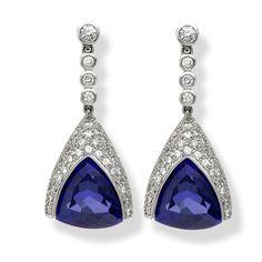 #Earrings at #Platandia #capegrace #hotel #southafrica #capetown #jewellery #gifts #tanzanite #diamonds