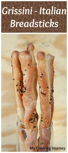 G for Grissini | Traditional Italian Breadsticks #baking #breadstick #bread #Italian